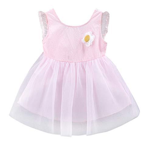 Clacce Kleinkind Kind Baby Mädchen 3D Floral Flügel Tüll Party Prinzessin Kleid Kleidung (Baby Mädchen Kleidung Teal)