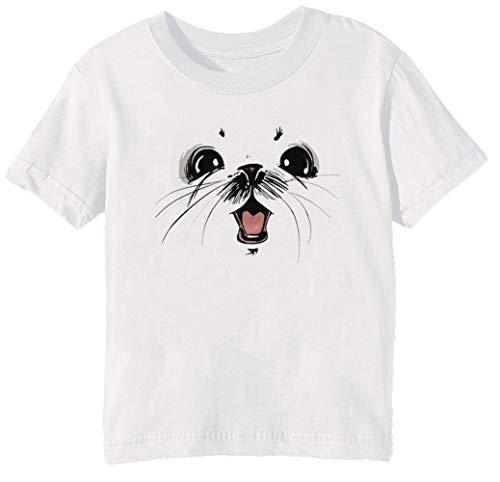 Ghus Saga Comic Fantacy Unisex Jungen Mädchen T-Shirt Rundhals Weiß Kurzarm Größe 2XS Kids Boys Girls T-Shirt XX-Small Size 2XS