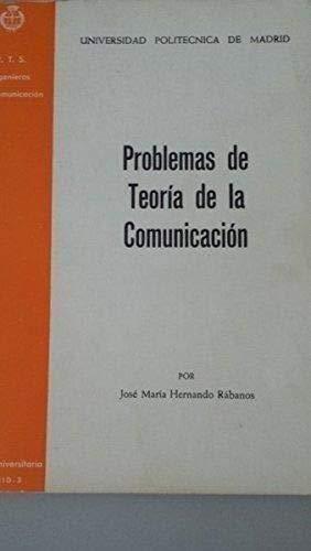 Problemas de teoría de la comunicación por José María Hernando Rábanos