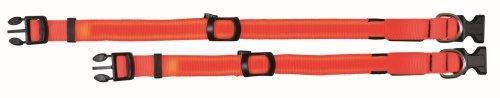 Trixie 13062Flash Collar, S de m: 30–40cm/25mm