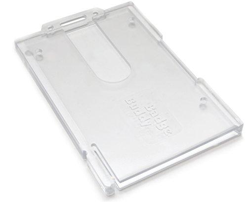 Ausweishalter im Querformat, Badge-Buddy Doppelter Kartenhalter