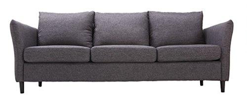 Miliboo-Divano-design-3-posto-grigio-scuro-DELLY