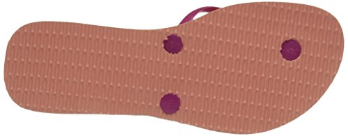 Havaianas Flat Resort, Chaussons Mules Femme Multicolore (Light Pink 1139)