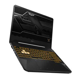 ASUS TUF FX505GE-BQ151T, 15.6 FHD No Glare IPS 60Hz, i7-8750H, RAM 16 GB DDR4, 1 TB Firecuda + 256 GB SSD, Nvidia GTX1050Ti da 4 GB DDR5, Windows 10, Tastiera Retroilluminata RGB, camera HD