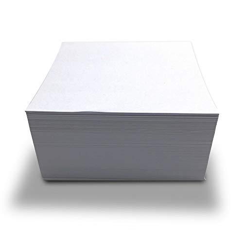 younikat Ersatzpapier für langanhaltenden Projektor Zeichenspaß - quadratisch I Papier-Zuschnitte in 10,5 x 10,5 cm zum Nachfüllen I 500 Blatt I dv_428