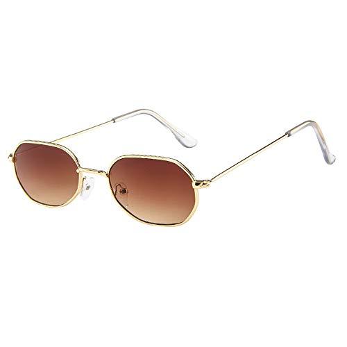 Dorical Unisex Sonnenbrillen Herren und Damen Mehrfarbig Mode Vintage Kleine Metal Frame Glasses Für Männer & Frauen Outdoor Sports Sale