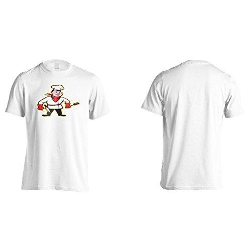 Chef Buon Appetito Divertente Novità Uomo T-shirt rr33m White