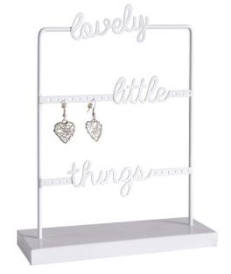 Amaal Trading Lovely Little Things Schmuck Halter Rack (Metall, Draht) -
