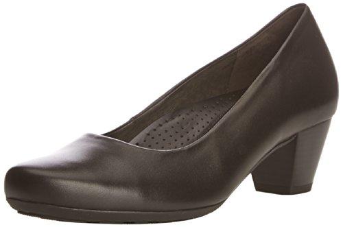 Gabor  Brambling,  Damen Pumps , Schwarz - schwarzes Leder - Größe : 38 EU (5 UK)
