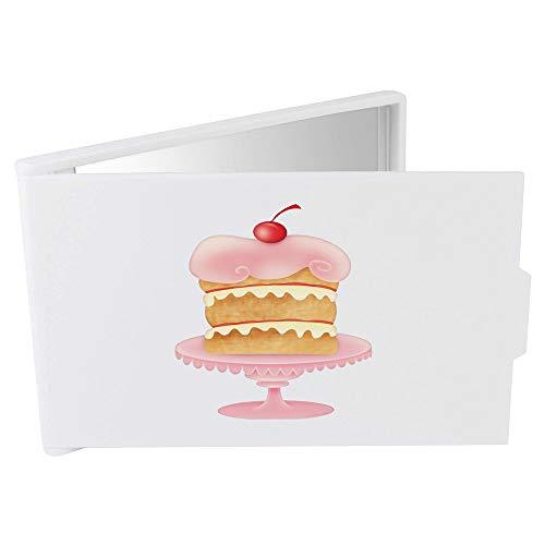 Azeeda 'Kuchen auf Stand' Taschenspiegel / Kosmetikspiegel (CM00022126) (85-kuchen-deckel)
