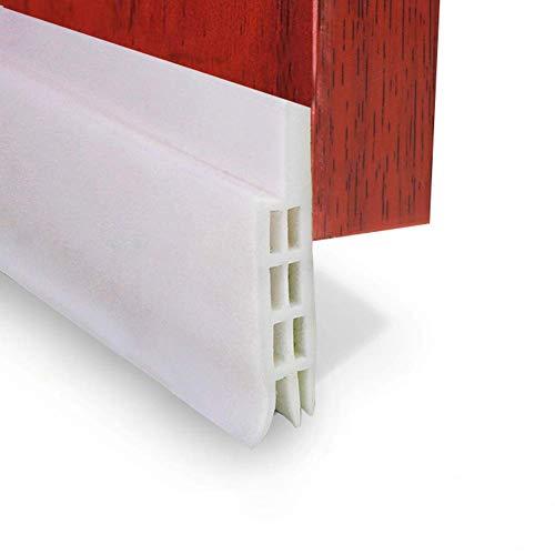 Expower 2M Selbstklebende Tür Türdichtung Dichtungsstreifen Zugluftstopper gegen Insekt Ersatzdichtung Wetterfest Blocker Schalldichtung Silikon Türstopper 200 * 5cm -
