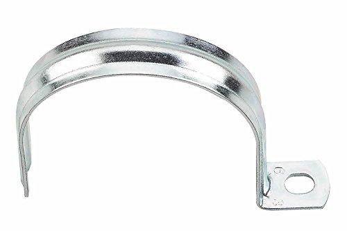 Colliers de fixation à partir de de pi - Tuyau en PVC pour tube d'acier tube en cuivre, Tuyau flexible, unilatéralement fixierbar, einteilig | galvanisé diamètre : 16 mm Lot de 20