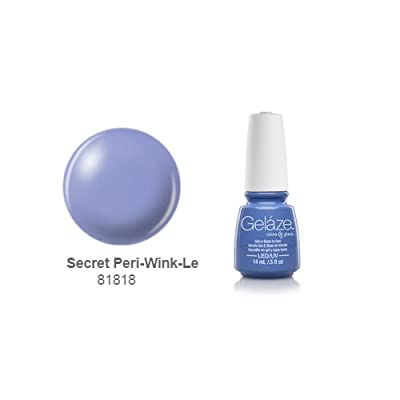 China Glaze Gelaze Nail Polish, Secret Peri-Wink-Le