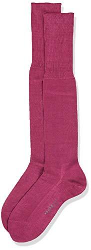 Falke No. 9 Pure Fil D'Ecosse Chaussette Homme, Rouge, FR : S (Taille Fabricant : 39-40)