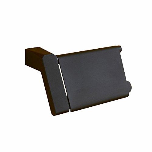 Shelfhx American Creative Black Covered Handtuchhalter Bad WC Regal Wand Toilettenpapierhalter Box Küche Waschküche Tissue Rack -