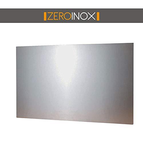 Pannello paraschizzi - varie misure - **prodotto di alta qualita'** acciaio inox aisi 304 (40 x 50 cm)