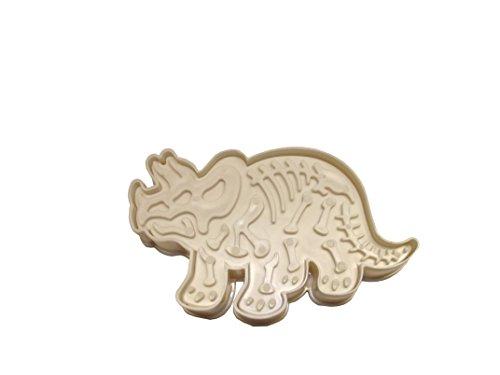 Keksausstecher und Stempel Dinosaurier (Triceratops)