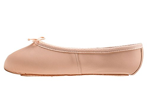 Pink Leather Full Sole Dance Ballet Shoes Childs Adults Girls All Sizes From Katz Dancewear (Childs UK 12)
