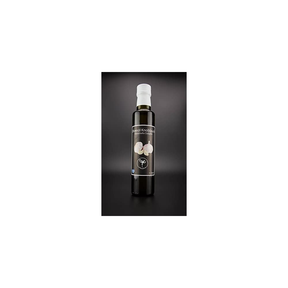 Allesolive Natives Olivenl Extra Mit Knoblauch 250ml
