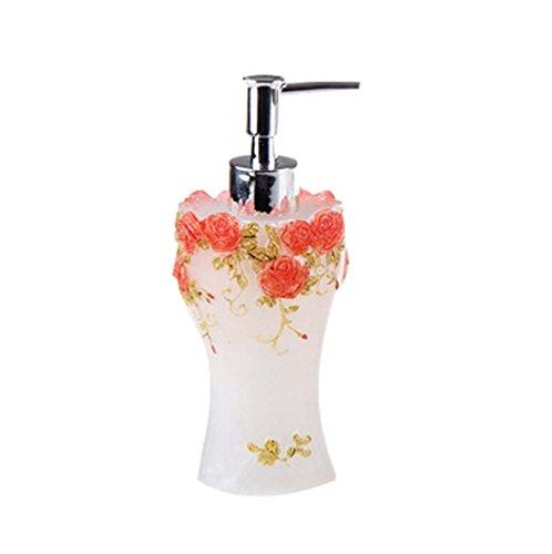 Exquise corps de crème liquide bouteilles réutilisables / Container,Rose rose