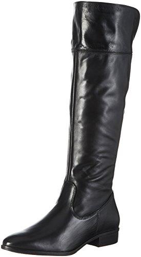 Tamaris Damen 25528 Stiefel, Schwarz (Black), 40 EU (Leder Stiefel Schwarz)