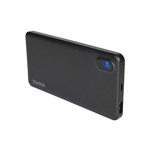 SWEEX Backup-Batterie für Telephone 8000mAh USB schwarz