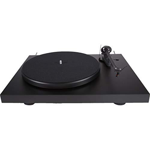 Pro-Ject Debut III Manueller Plattenspieler (MM-Tonabnehmer Ortofon OM 5E, Pro-Ject 8.6 Tonarm) matt-schwarz