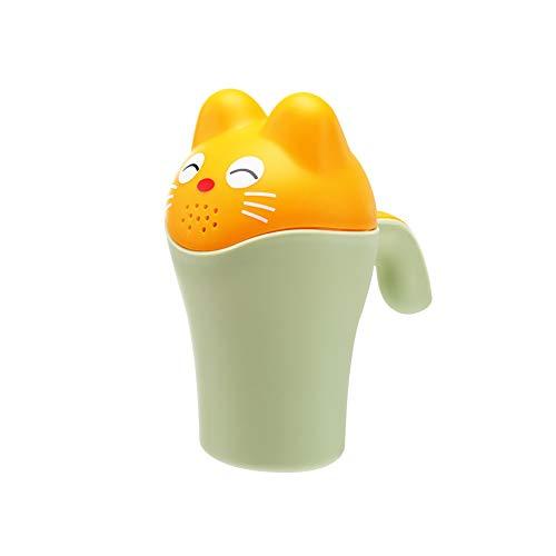 Baby Dippers Badspülen Cup Dusch-Shampoo Scoops Sprinkler Flasche Badewanne Schwimmen Spielzeug für Kinder Kinder Grün -