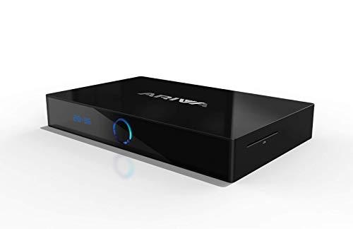 Ferguson Ariva 4K UHD H.265 HEVC - Receptor Bluetooth de Doble Banda (Pay TV - CA, SD, HDR, Netflix, HBO GO, HDMI, USB)