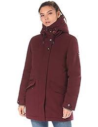 Lakeville Mountain Damen-Mantel TAUANUI   Weich gefütterte Winter-Jacke mit  Kapuze und modischen… 594b5d048a