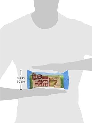 Bakers Meaty Twist Medium Dog Treats 180g - Case of 12 (2.16kg)