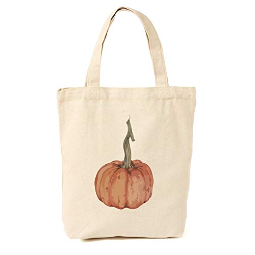 Kürbis-Tragetasche aus Segeltuch, Geschenke für Freunde, süße Geschenke für Mädchen und Frauen, Geschenk für Halloween, für Bauern und Halloween, Tragetaschen (Halloween Tote Bauern)