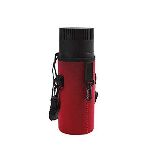 TUNBG Car Refrigeration Cup, tragbare Insulin-Kühlbox, leicht zu transportierender Mini-Medikamentenkühlschrank - Kleine Reise-Box für Medikamente (Farbe: Rot),rot -