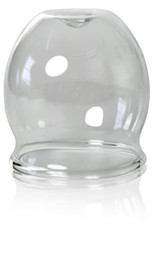 Feu-ventouse professionnel 50 mm, schröpfkopf saugglas, déboucheur à ventouse), ventouse, cloches en verre, lauschaer verre original