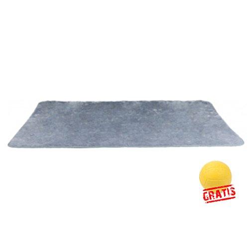 dry bed TRIXIE THERMODECKE +BALL Gratis Hundedecke Plüsch Besonders Weich und Isolierend Hunde Decke (100 × 75 cm)
