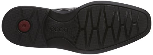 Ecco ILLINOIS Herren Slipper Schwarz (1001BLACK)