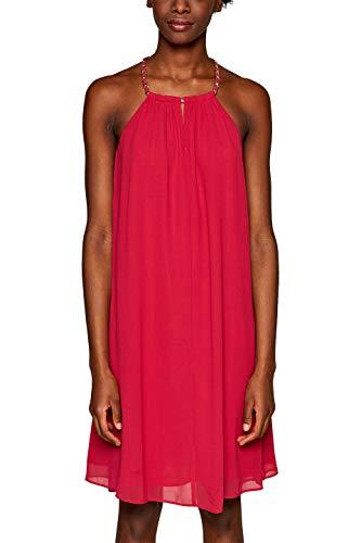 ESPRIT Collection Damen 039EO1E031 Kleid, Rosa (Pink Fuchsia 660), Herstellergröße: 40 -