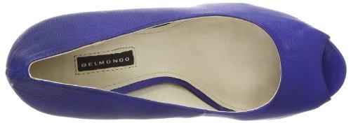 Belmondo 421030/M, Escarpins Bout ouvert femme Bleu - Blau (marino)