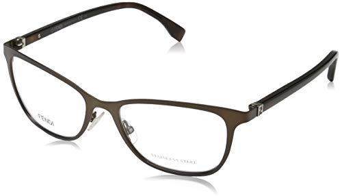 Fendi Damen FF 0011 7SR/17-53-17-135 Brillengestelle, Braun, 53