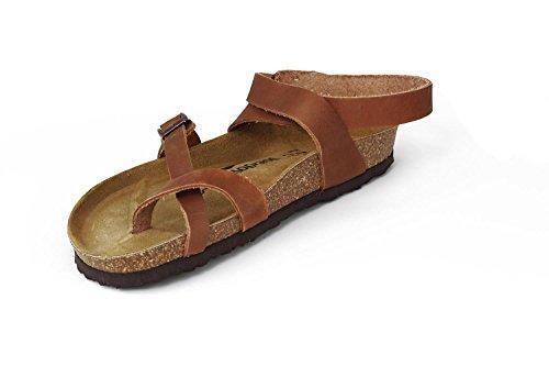 JOE N JOYCE Yana Pelle oliato sandali Normale Nature