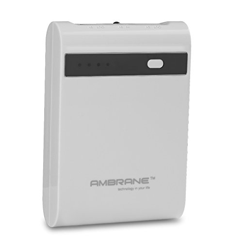Ambrane P-1000 STAR 10400 mAh Power Bank (Made in India) With Samsung...