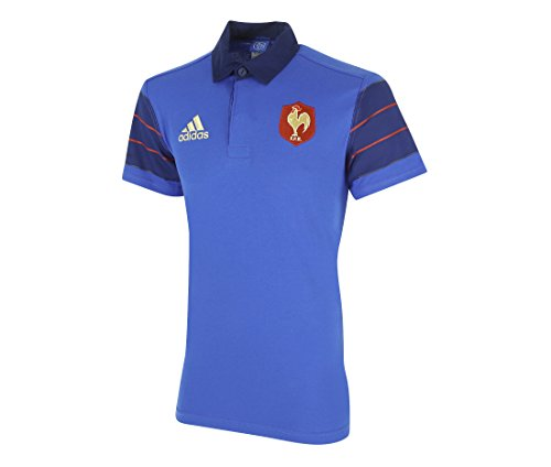 ADIDAS PERFORMANCE MAILLOT DE RUGBY EQUIPE DE FRANCE FFR S88855