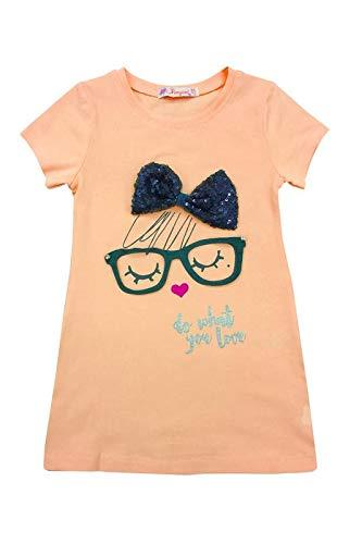10d01fbf703a9 By Leyal For Kids-Kızlı Elbise-19214-Somon-3 Yaş Fiyatları ...