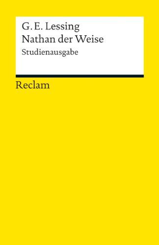 Nathan der Weise: Studienausgabe (Reclams Universal-Bibliothek, Band 19142)