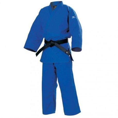Mizuno Shiai Gi Judoanzug, Kampfsportanzug, 900g, blau, 3