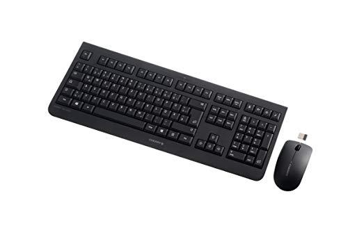CHERRY Tas DW 3000 Wireless Desktop Black Tastatur+Maus -