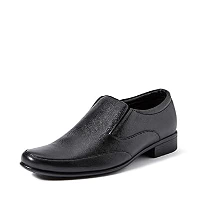 Extacy By Red Chief EXT116 Men's Black Formal Leather Shoes - 9 UK/India (43 EU)(a-400109)