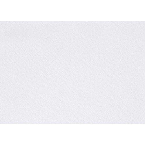 Pannolenci 10 fogli, colore bianco, formato 20x30, spessore 1,5 mm - Feltro Bianco