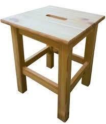 Blinky OEM. 9679005big-quadro Hocker aus Holz von Blinky bei Gartenmöbel von Du und Dein Garten