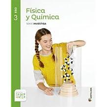 FISICA Y QUIMICA SERIE INVESTIGA 3 ESO SABER HACER - 9788468017426